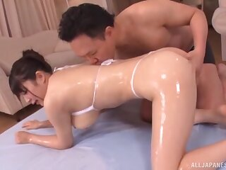 Marvelous nude scenes be required of home hardcore with a curvy Japanese wife